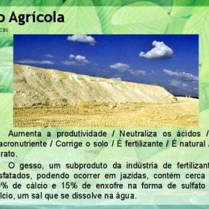 Gesso  Agrícola – 50 KG