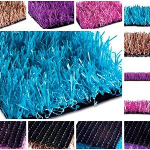 Grama Sintética Decorativa 25mm Soft Grass