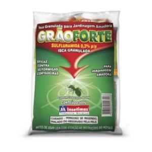 Isca Granulada GRÃOFORTE – Formicida ( 10 Pacotes De 50g)